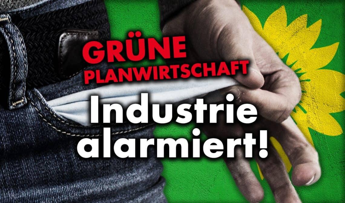 Grüne Planwirtschaft: Industrie alarmiert!