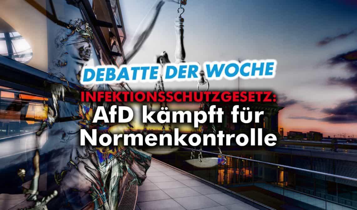 Infektionsschutzgesetz: AfD kämpft für Abstrakte Normenkontrolle!