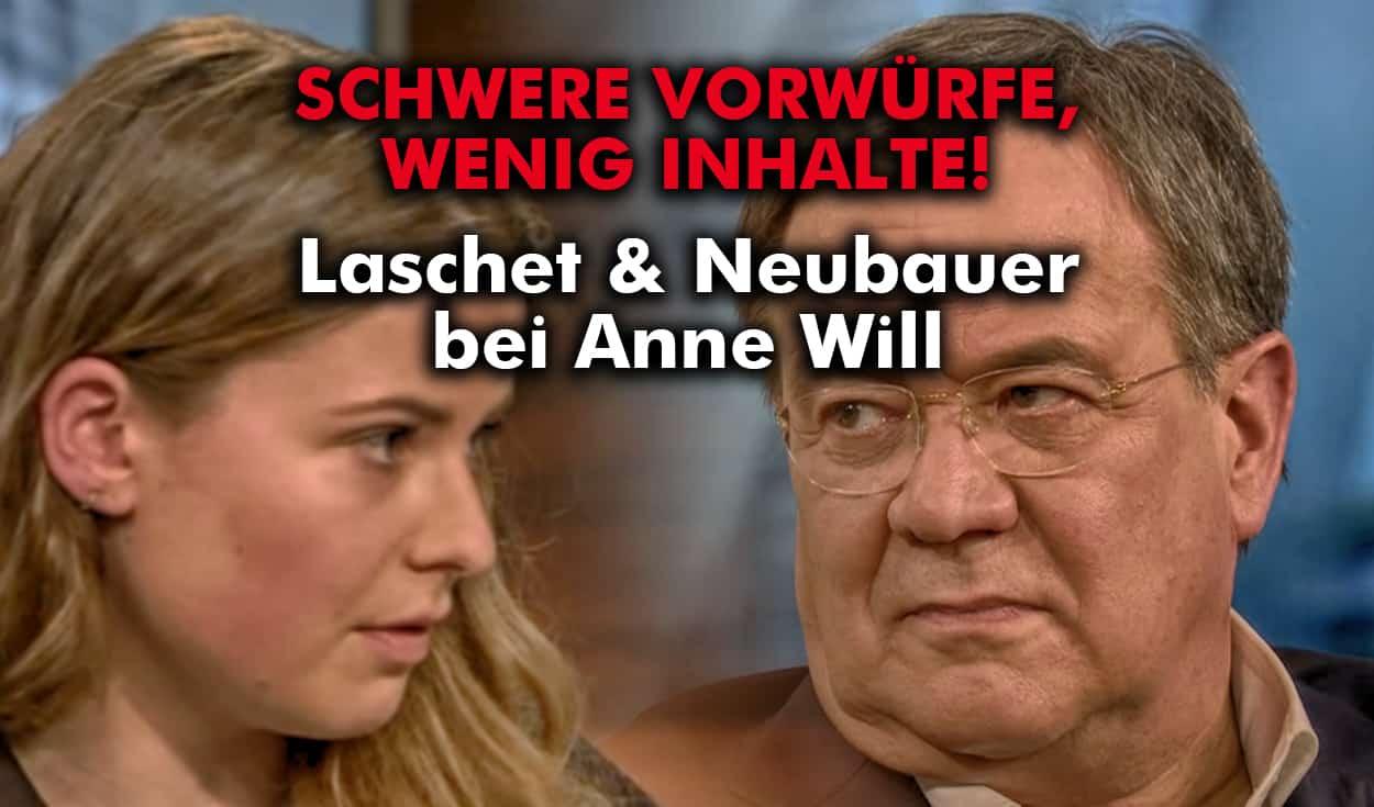 Laschet & Neubauer bei Anne Will