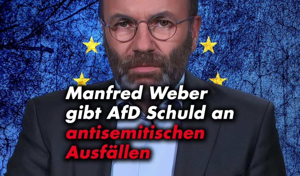 Weber gibt AfD Schuld an antisemitischen Ausfällen