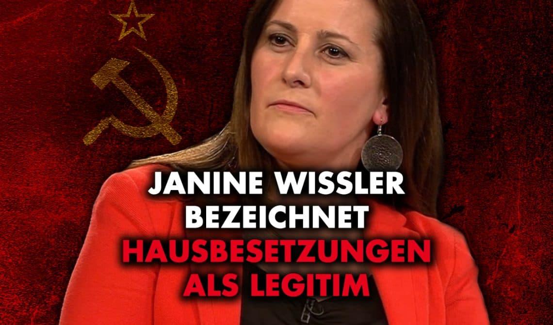 Janine Wissler (Die Linke) bezeichnet Hausbesetzungen als legitim