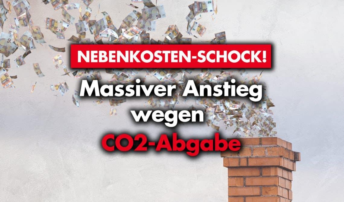 Nebenkosten-Schock! Massiver Anstieg wegen CO2-Abgabe