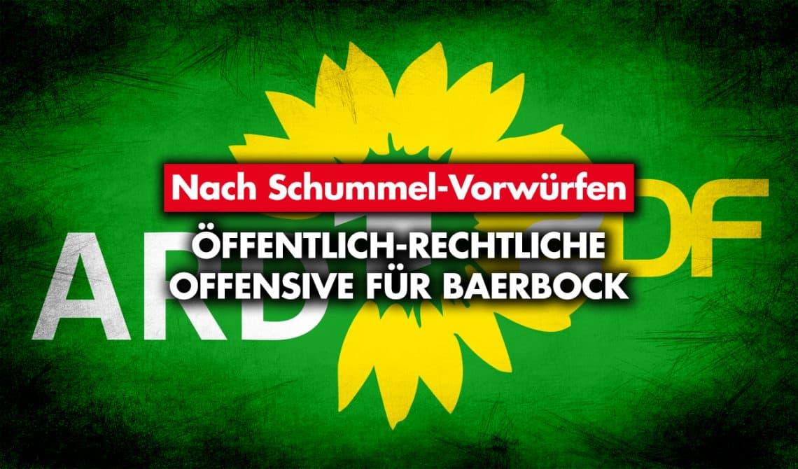 Nach Schummel-Vorwürfen: Öffentlich-rechtliche Offensive für Baerbock