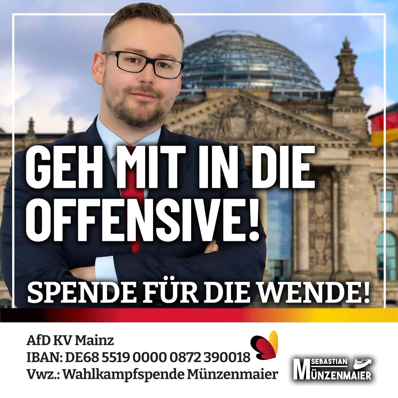 Geh mit in die Offensive - Sebastian Münzenmaier
