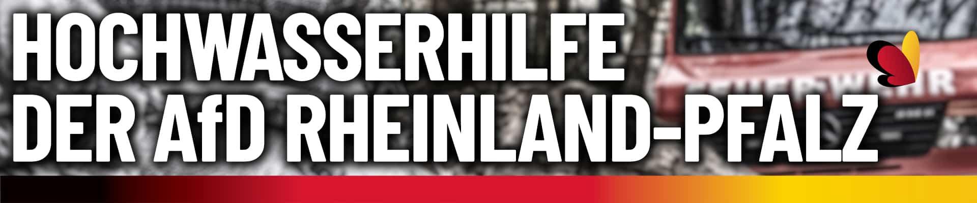 Hochwasserhilfe Rheinland-Pfalz