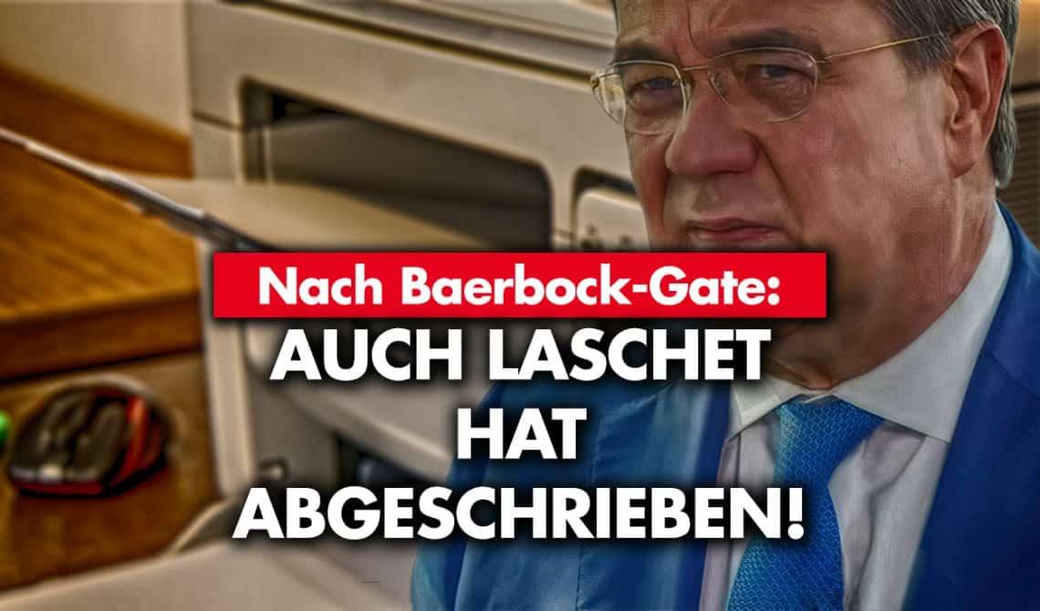 Nach Baerbock-Gate: Auch Laschet hat abgeschrieben!