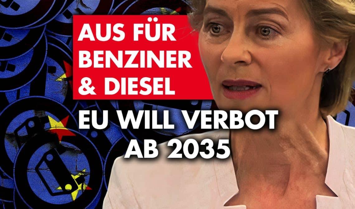 Aus für Benziner und Diesel: EU will Verbot ab 2035