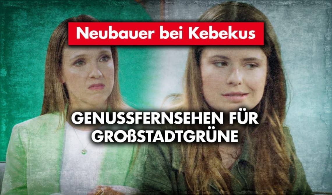 Neubauer bei Carolin Kebekus: Genussfernsehen für Großstadtgrüne