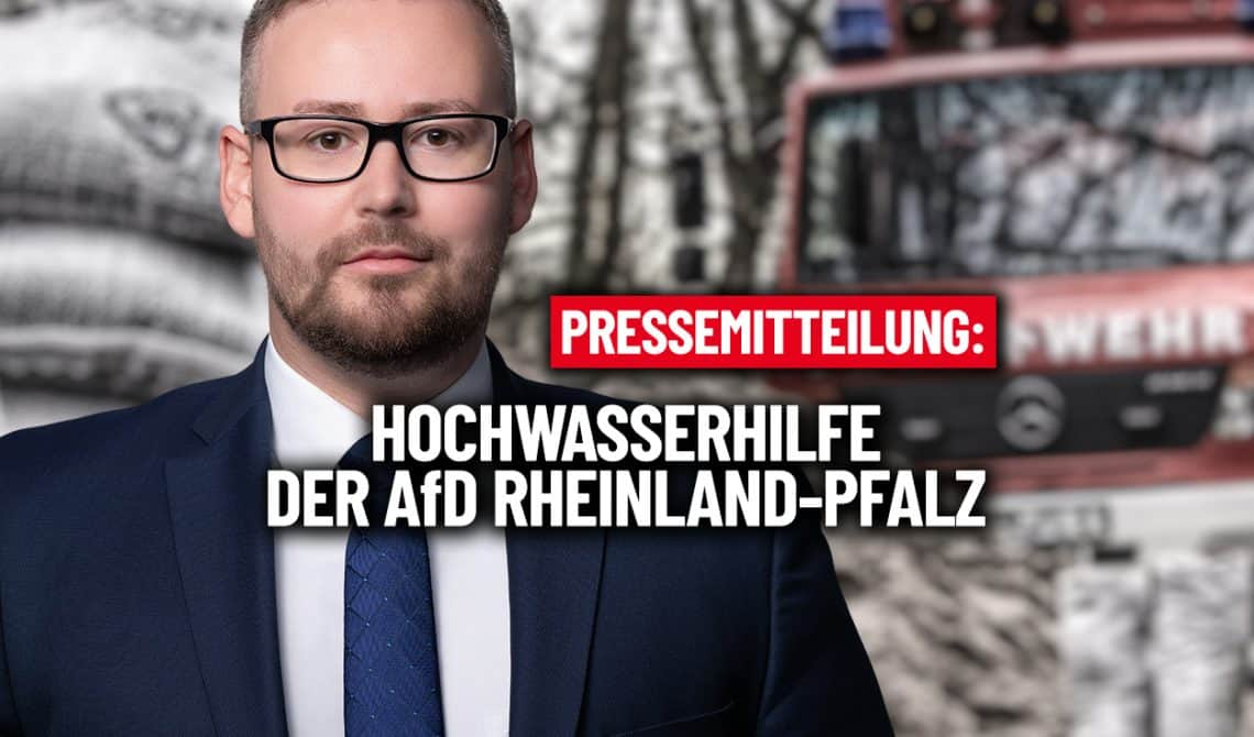 Hochwasserhilfe der AfD-Rheinland-Pfalz