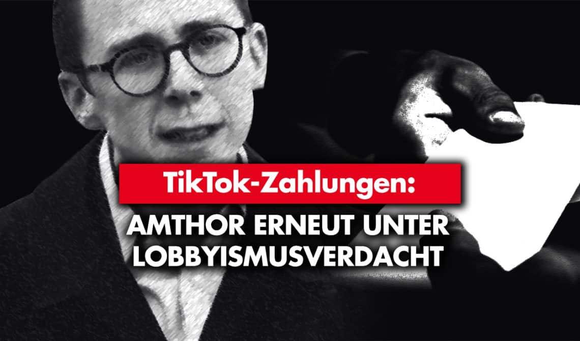TikTok-Zahlungen: Amthor erneut unter Lobbyismusverdacht