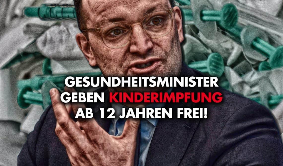 Gesundheitsminister geben Kinderimpfung ab 12 Jahren frei!