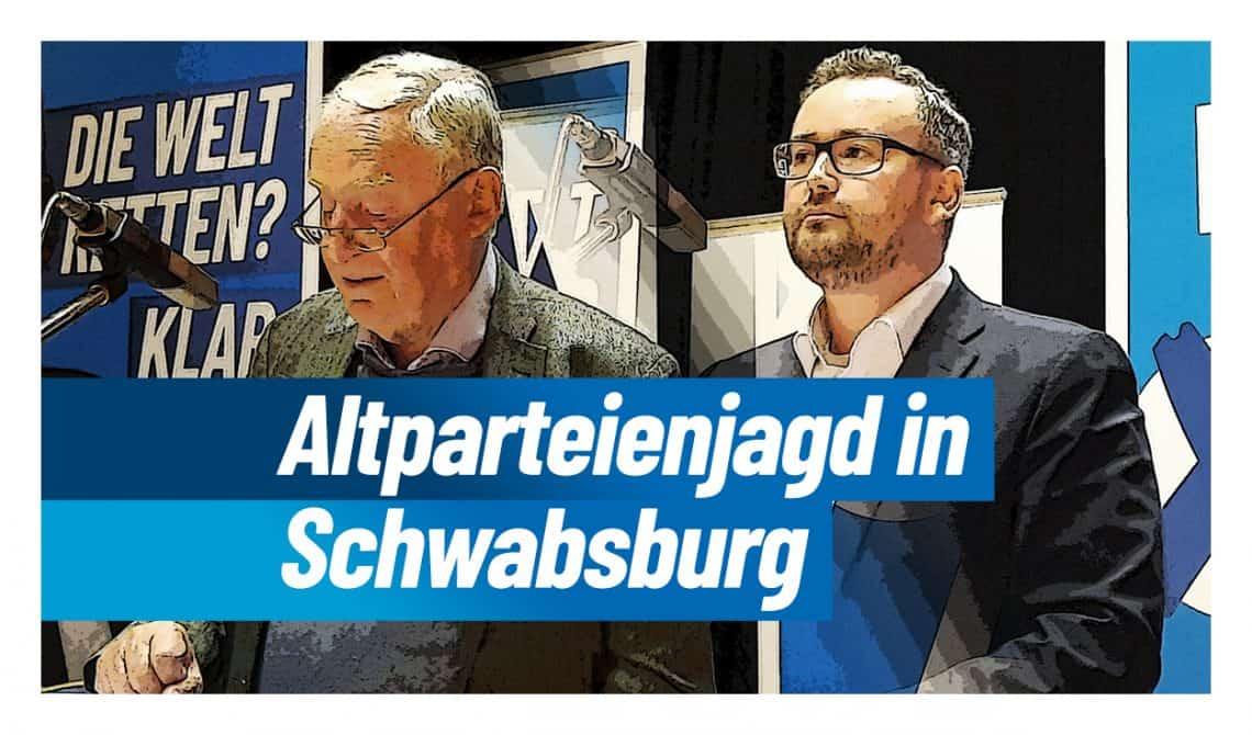 Altparteienjagd mit Alexander Gauland in Schwabsburg