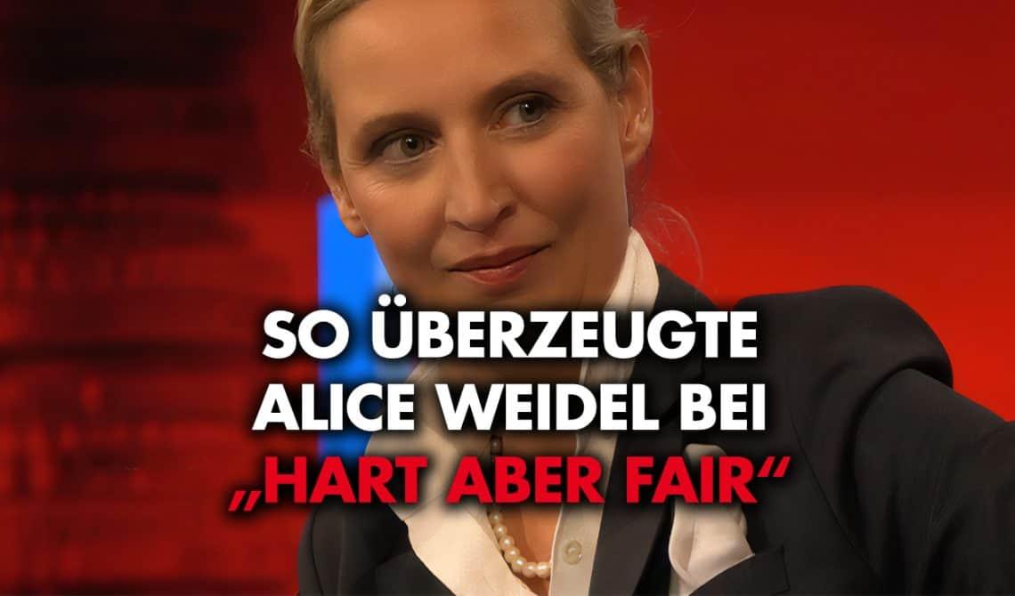 So überzeugte Alice Weidel in der Sendung