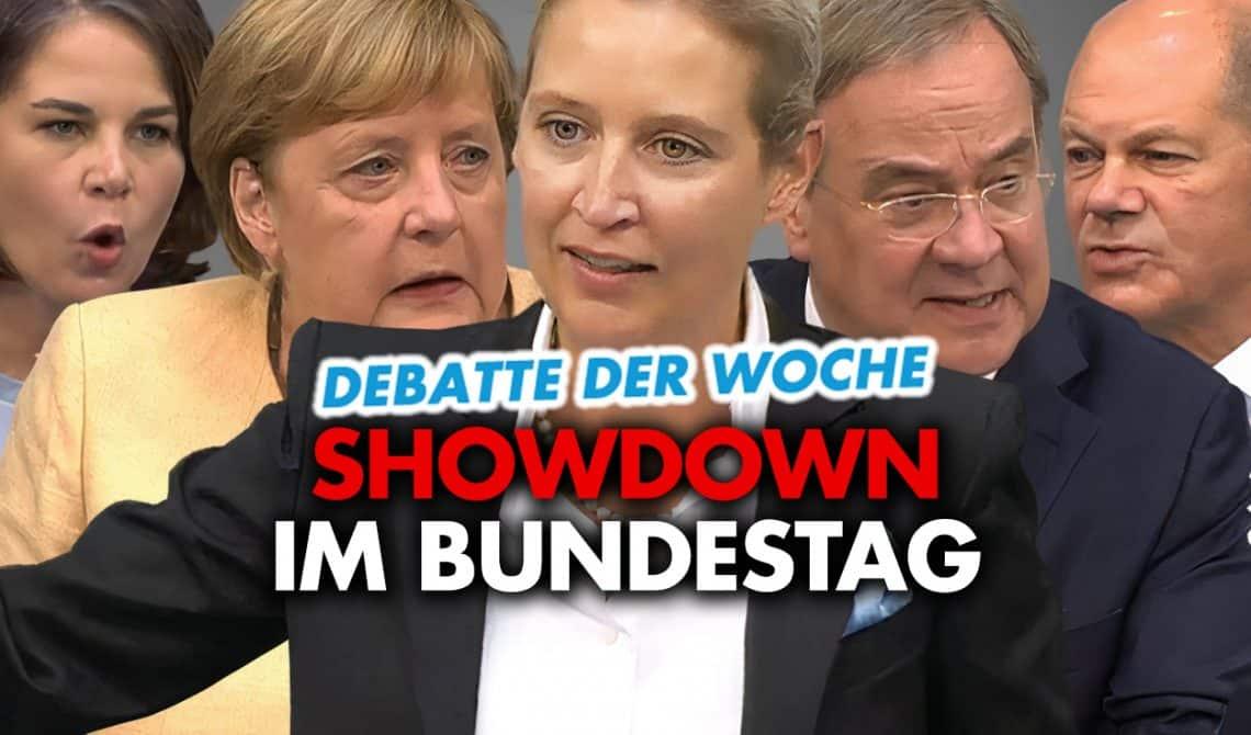 Debatte der Woche: Showdown im Bundestag