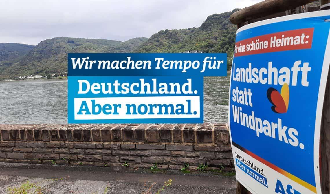 Wir machen Tempo für Deutschland. Aber normal.