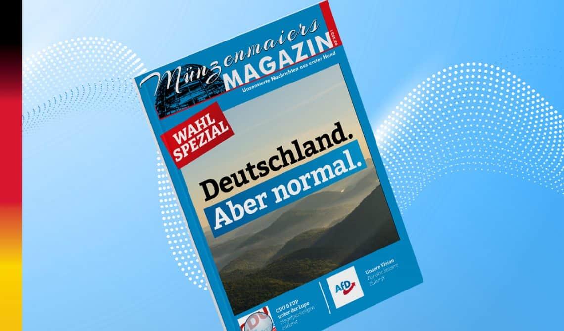 Münzenmaiers Magazin - WAHL SPEZIAL