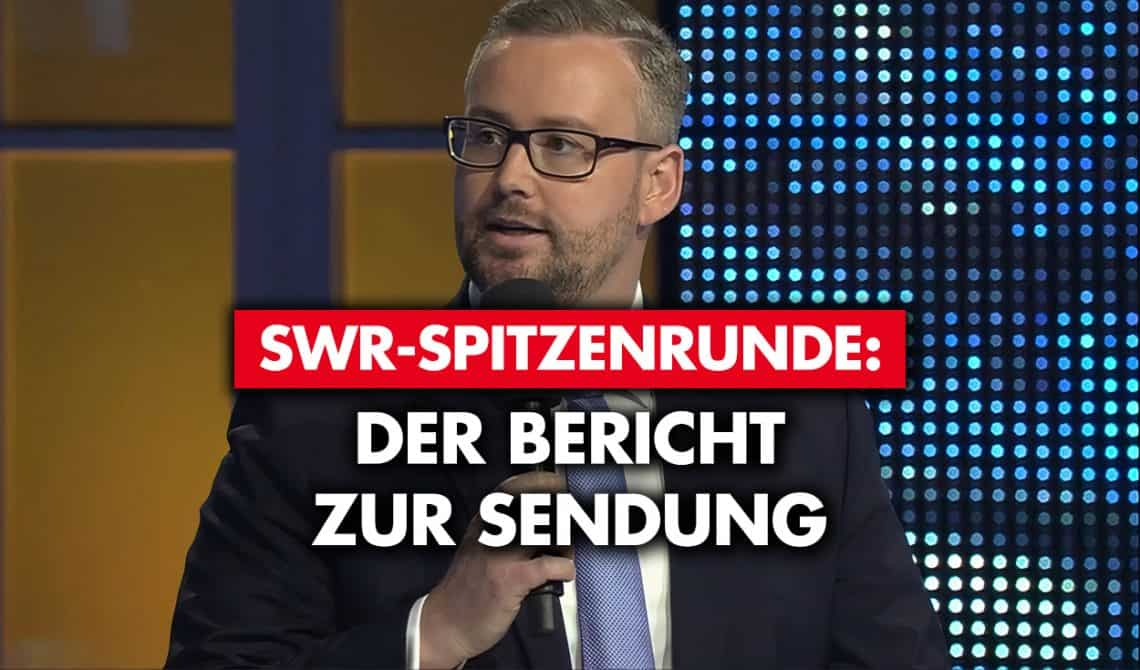 SWR-Spitzenrunde: Der Bericht zur Sendung
