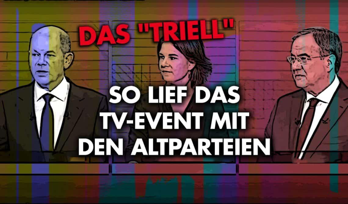 Das Triell - So,lief das TV-Event mit den Altparteien