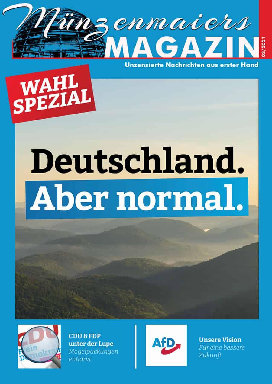 Münzenmaiers Magazin - Ausgabe 03/2021