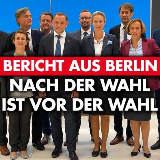 Bericht aus Berlin: Nach der Wahl ist vor der Wahl!