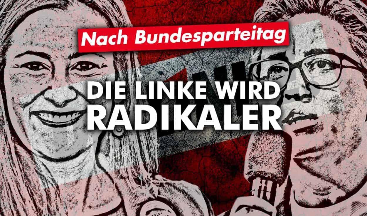 Bundesparteitag der Linkspartei: Die Linke wird radikaler