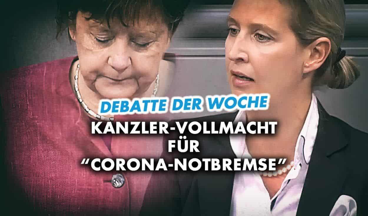 """Infektionsschutzgesetz: Kanzler-Vollmacht für """"Corona-Notbremse"""""""