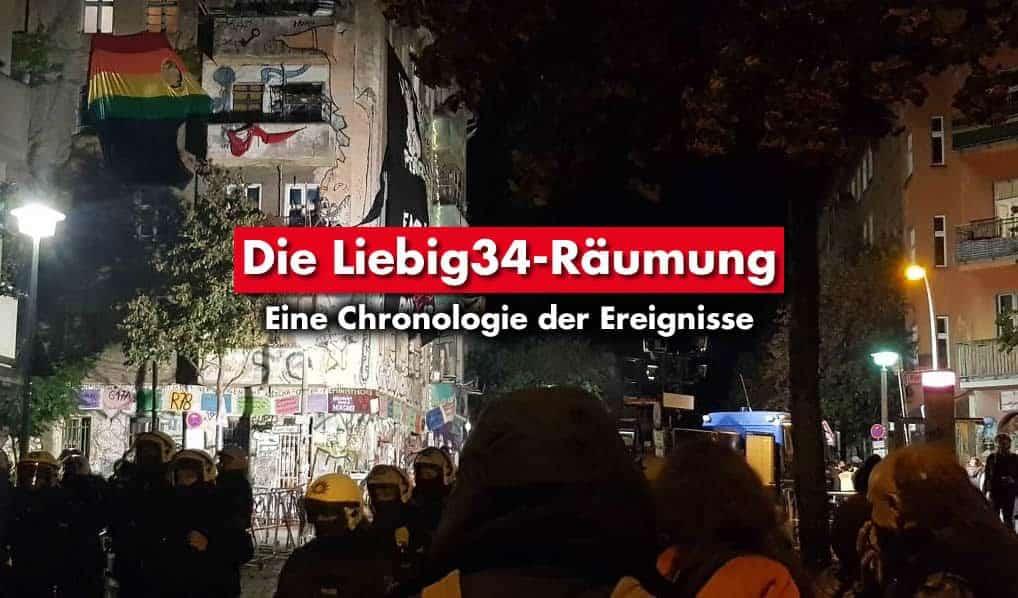 Die Liebig34-Räumung – Eine Chronologie der Ereignisse